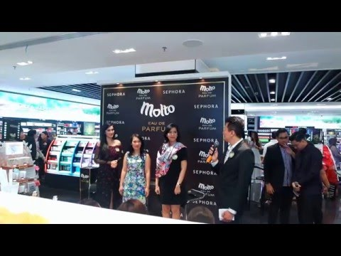 Peluncuran Molto Eau De Parfum   Sephora Plaza Indonesia