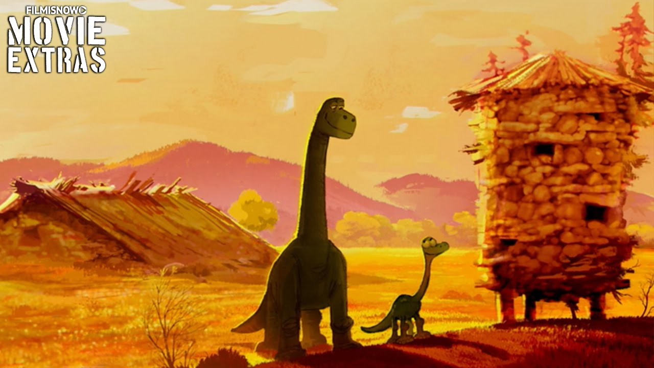 The Good Dinosaur Blu-Ray/DVD (2016) Deleted Scene - Building The Silo