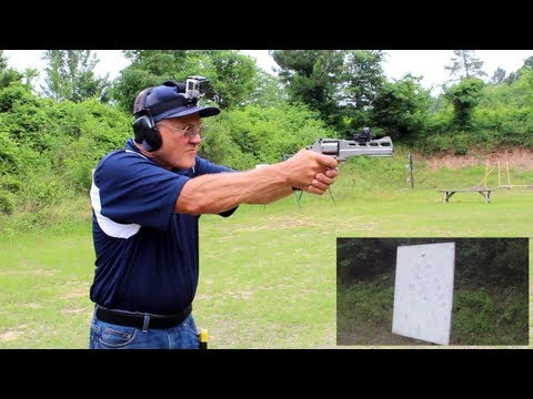 6 shots in 1 second with a Chiappa Rhino Revolver SW40