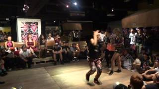 Battlecat-Waacking Semi Final II 2nd Round-Aug 15 2013-Chrissy & May Chou from Taiwan