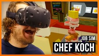 Rick der Gourmet Chef - Job Simulator