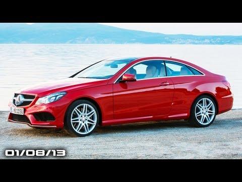 Lambo's 50th Surprise, 2014 E-Class, Mazda6 Diesel Will Race, GM Recall, & Flying FJ!