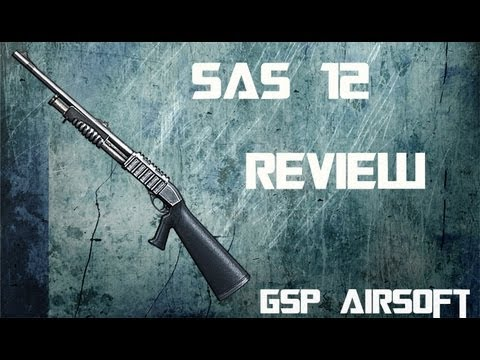 Franchi SAS 12 Softair Shotgun REVIEW (GsP Airsoft) GERMAN