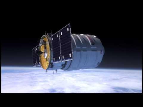 Orbital Sciences/Cygnus Demonstration Flight Animation