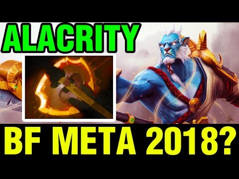 BATTLE FURY META 2018? - Alacrity Plays Phantom Lancer - Dota 2