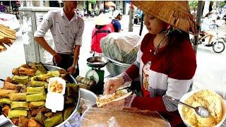 Hai Hót Girl Bán xôi, Bánh Chuối Kiếm Cả Triệu Mỗi Ngày Ở Gần Phú Mỹ Hưng | saigon travel Guide