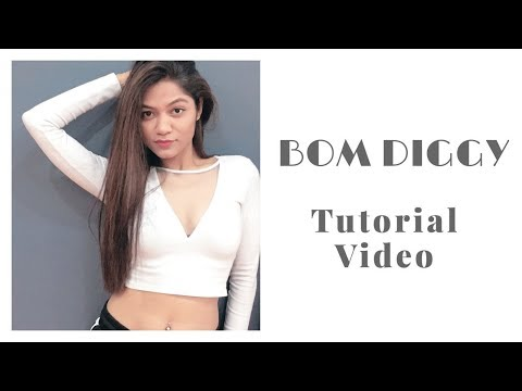 Zack Knight X Jasmin Walia - Bom Diggy | Tutorial Video | LiveToDance With Sonali