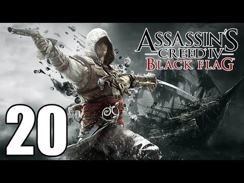 Assassin's Creed 4 Black Flag Gameplay Walkthrough Part 20: The Forts Let's Play Playthrough