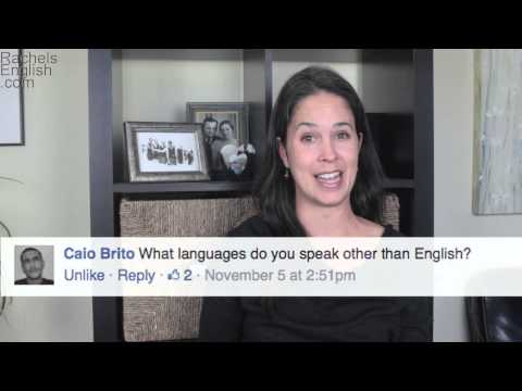 Question and Answer with Rachel's English — American English