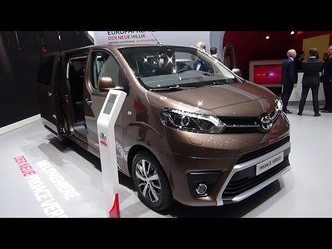 2017 - Toyota Proace Verso - Exterior And Interior - Geneva Motor Show 2016