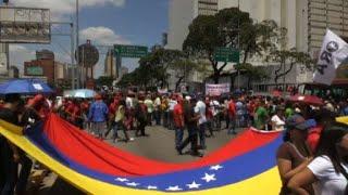 Venezuela: Maduro supporters demonstrate in Caracas