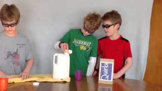 Square milk jug poring attachment
