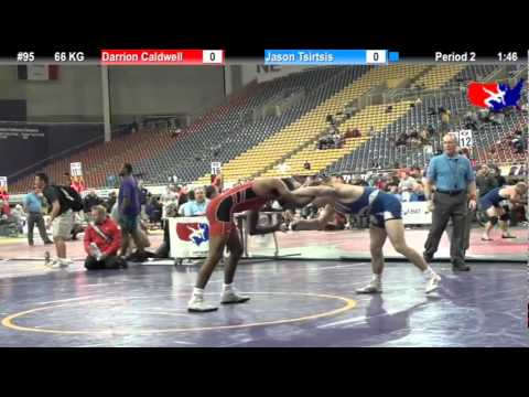 Last Chance Qual 66 KG: Darrion Caldwell (Sunkist Kids) vs. Jason Tsirtsis (Region WA)