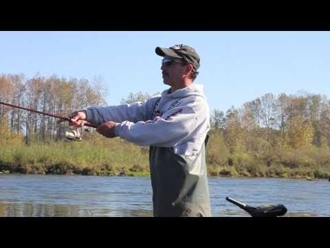 With Mike on the Cowlitz River