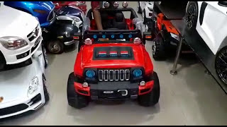 Jeep For Kids 1-10 year age HUMMER LOOK Battery car #Mywholesale India Delivery wholesale market TOY