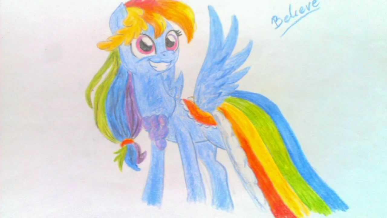 rysunki my little pony youtube