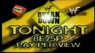WWF Breakdown 1998 Commercial