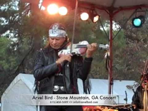 Stone Mountain, GA Concert - Arvel Bird and band vignette