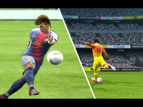 Neymar Barcelona Best Goals Pes 2013 Compilation  HQ