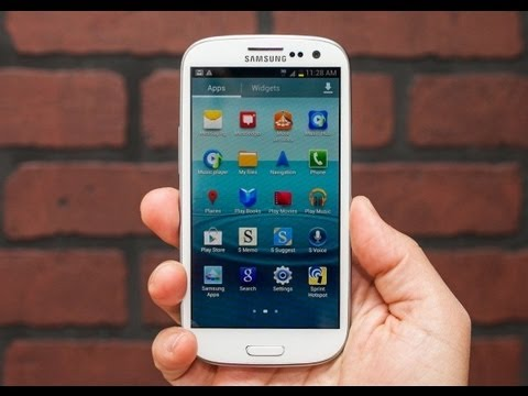 Android Jelly Bean 4.2.2 Samsung Galaxy SIII CyanogenMod 10.1