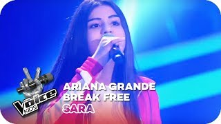 Ariana Grande - Break Free (Sara) | Blind Auditions | The Voice Kids 2018 | SAT.1