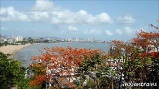 travel india@ famous hanging gardens/ mumbai view/ malabar hill,walkeshwar,mumbai, india