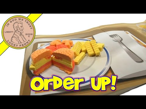 Umagine Moon Dough Hamburger Maker Set  (Update/Flashback Video)