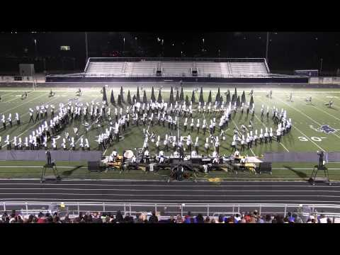 Bentonville High School Band performs