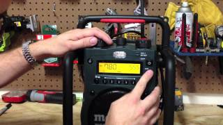 METABO CORDLESS WORKSITE RADIO RC 14.4 - 18 - Review