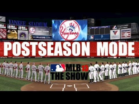 MLB 13 The Show - Postseason Mode