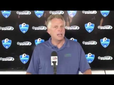 Va. Governor Terry McAuliffe Press Conference: 8/5/14
