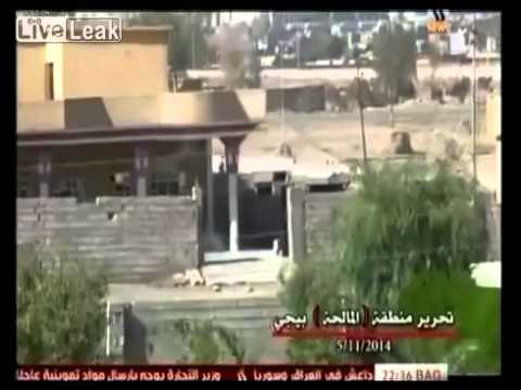 Iraq Forces Retake Oil Refinery From ISIS!!!