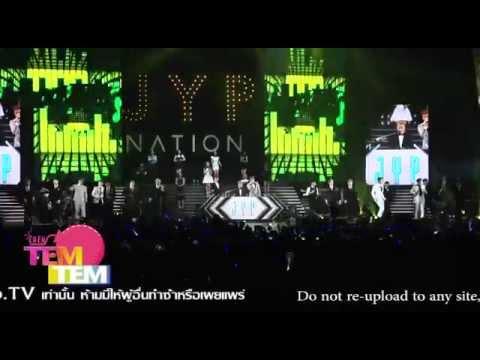 """141213 JYP NATION in BANGKOK 2014 """"ONE MIC"""""""
