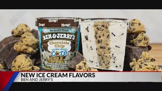 Ben and Jerry's Launches Three New Doughy Flavors