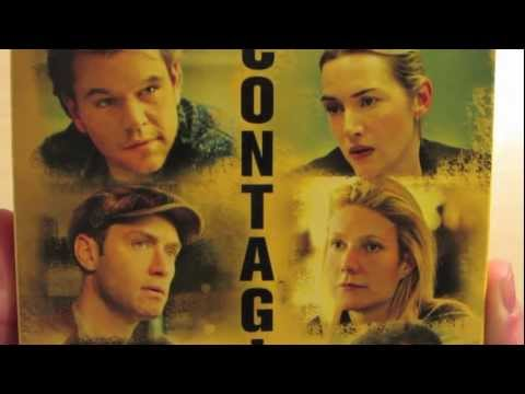 Contagion Blu-ray Unboxing