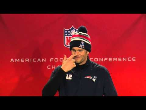 Poking fun with Tom Brady