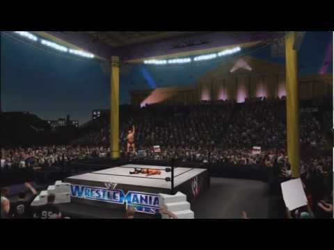 Wwe '13: Wrestlemania 19 Stage arena - The Rock Vs Stone Cold Steve Austin video