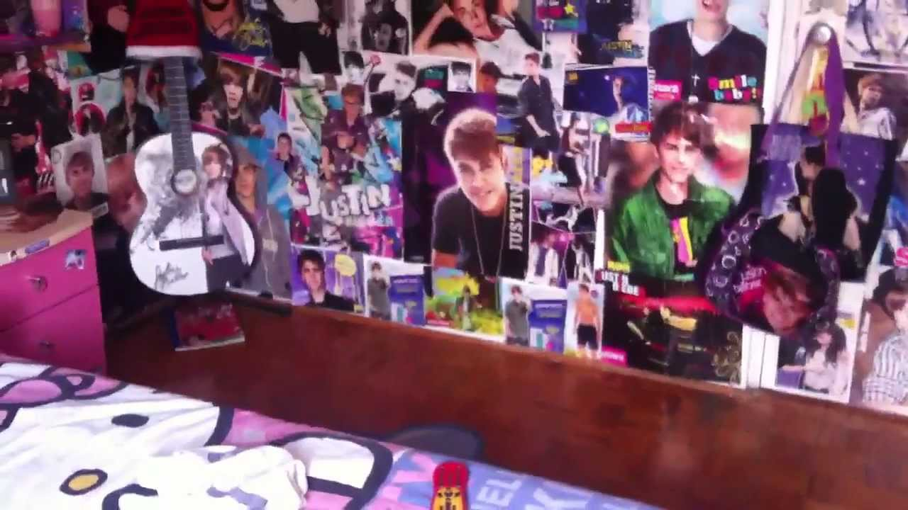 My Justin Bieber Room 2013! - YouTube
