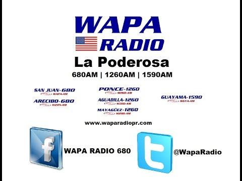 WAPA Radio La Poderosa Sigue Creciendo WGYA-AM 1590 Guayama, P.R. (2015)