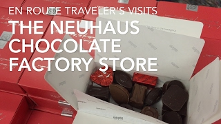 Visiting the Neuhaus Factory Store in Brussels