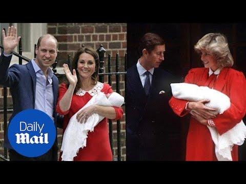 Kate made a sweet tribute to Princess Diana outside hospital - Daily Mail