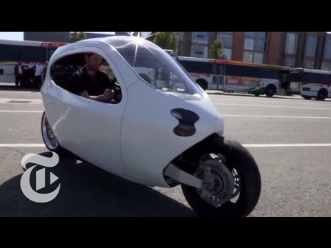 The Self Balancing Electric Motorcycle of the Future