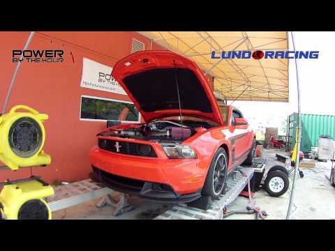 2012 Mustang Boss 302 with Comp Stage 3 Cams - Dyno Pull