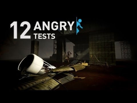 Portal 2 - 12 Angry Tests - Community Test Chambers [Complet
