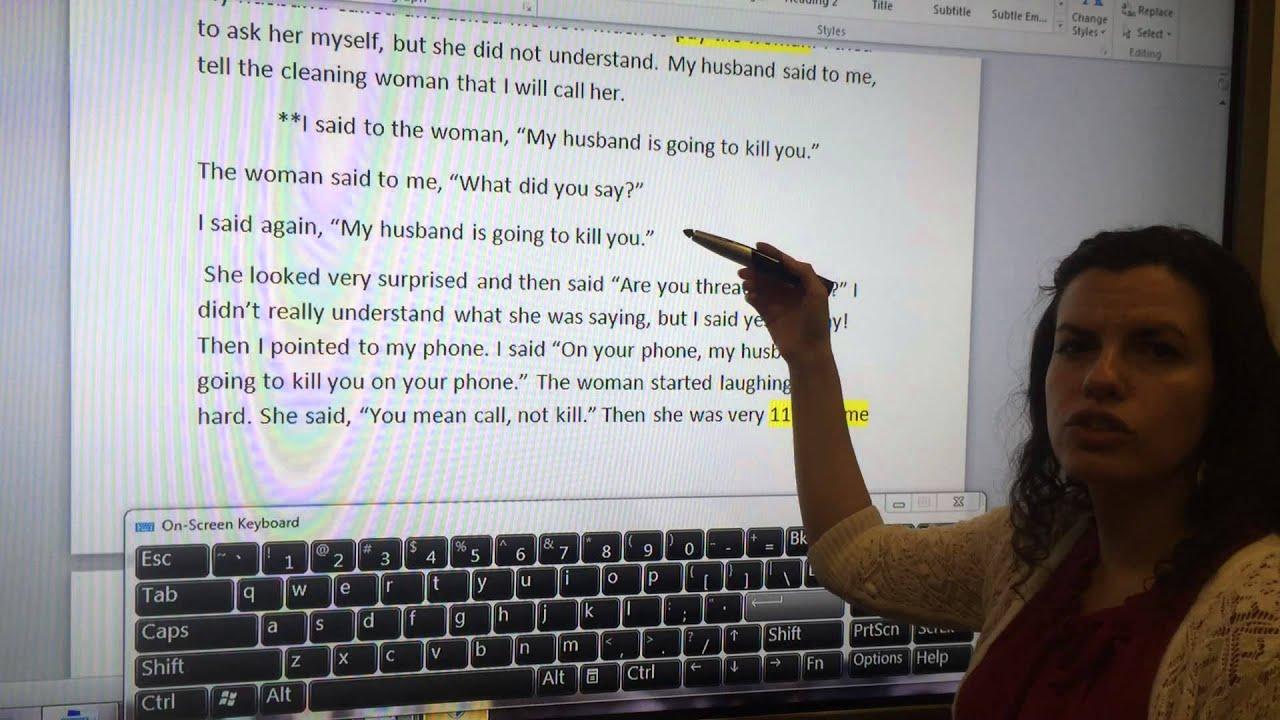 narrative essay vs reflective essay