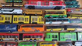 Mega Bus video for Kids 30 toy bus for kids and toy trains