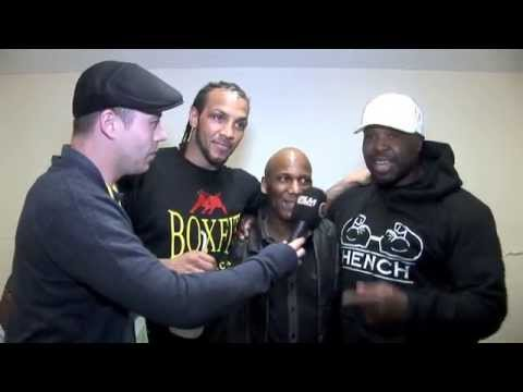 POST FIGHT INTERVIEW WITH WADI CAMACHO AFTER HE'S CROWNED PRIZEFIGHTER CHAMPION FOR iFILM LONDON