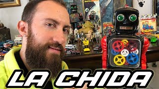 JUGUETES ANTIGUOS CHACHAREANDO VINTAGE TOYS UNBOXING REVIEW LILI LEDY TIN TOY ROBOT HOT WHEELS