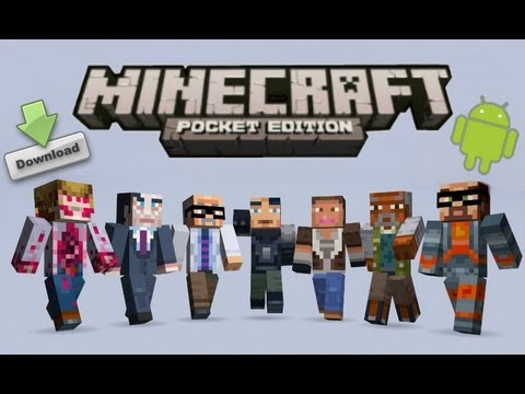 How to Change Skins in Minecraft Pocket Edition Update 0.7.2
