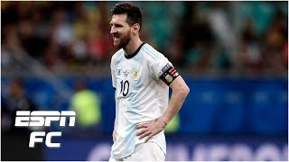 Lionel Messi 'didn't show up' for Argentina in loss vs. Colombia - Gab Marcotti | Copa America